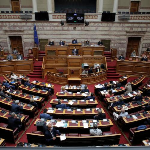 Greek parliament ratifies maritime accord with Egypt