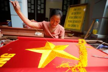 Photo Story: Vietnam National Day preparation