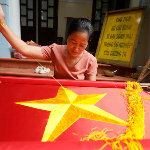 Photo Story: Vietnam National Day preparation