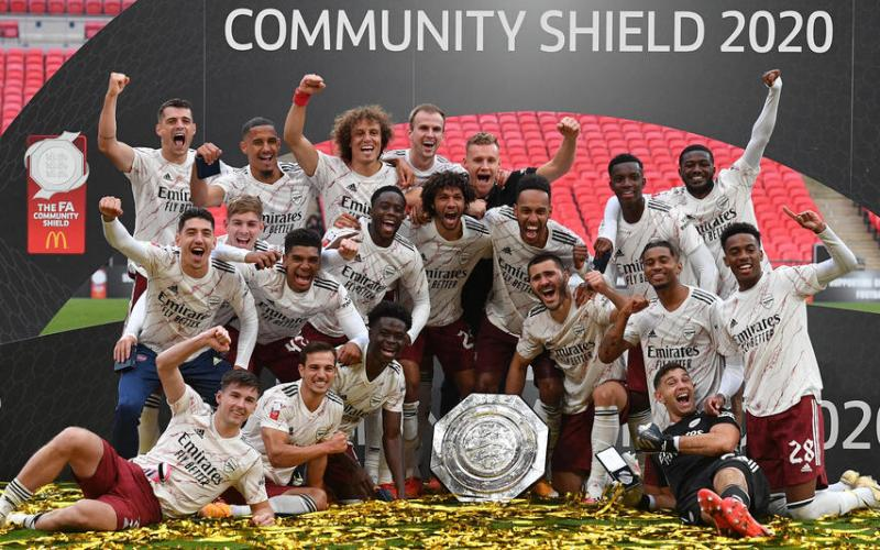 Arsenal beats Liverpool on penalties to win Community Shield