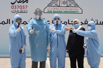 Egypt receives first batch of J&J COVID-19 vaccines