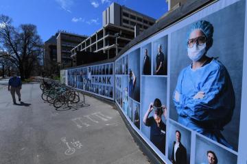 Photo Story: Photographic exhibition praises Victoria's health workers