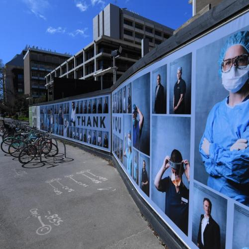 Photo Story: Photographic exhibition praises Victoria's health workers