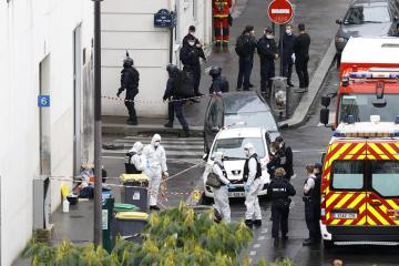 Paris knife attack near former Charlie Hebdo office declared act of terrorism