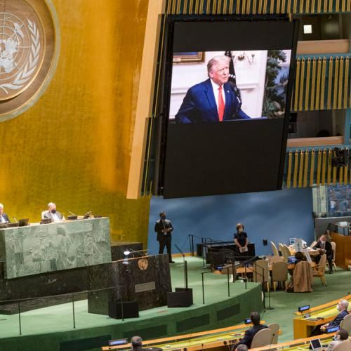 UN General Assembly: Trump accuses Beijing of unleashing 'plague'