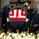 Photo Story: Late Justice Ginsburg lay in repose at the US Supreme Court