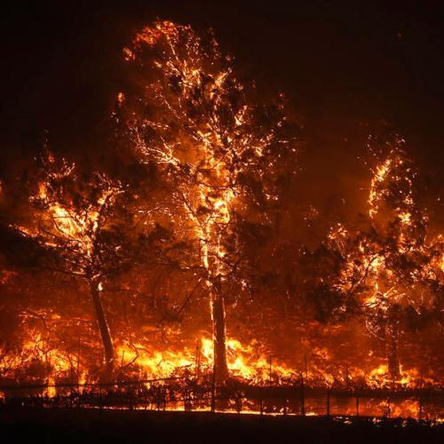 Photo Story: Northern California under extreme fire alert