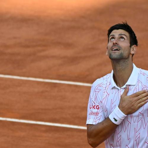 Djokovic to face Schwartzman in Italy's Open final