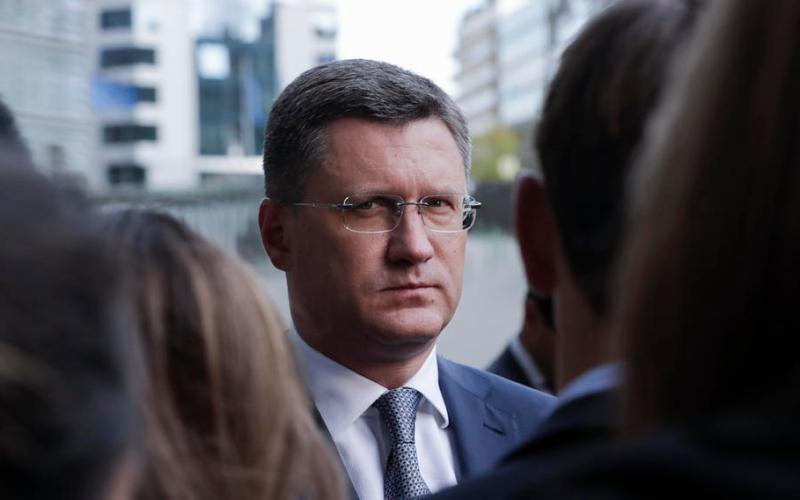 Russian energy minister warns of COVID-19 risks for global oil