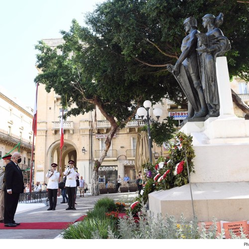 Photo Story: Malta Commemorates Victory Day