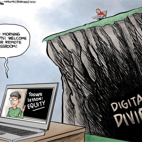 Cartoon – The real digital divide
