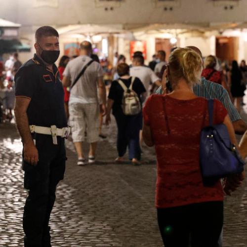 Coronavirus infections in Italy register increase