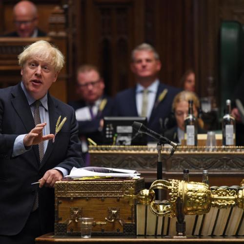 UK PM Johnson accuses EU of threatening food blockade