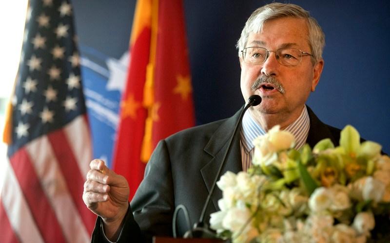Pompeo says U.S. ambassador to China to leave post