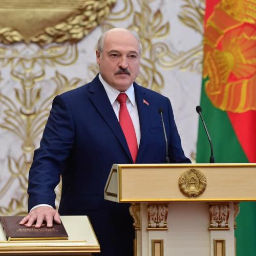 Belarus leader says he will quit when a new constitution is adopted