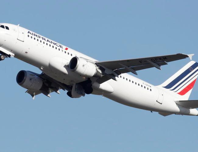 Air France's revenue fell 70% in August