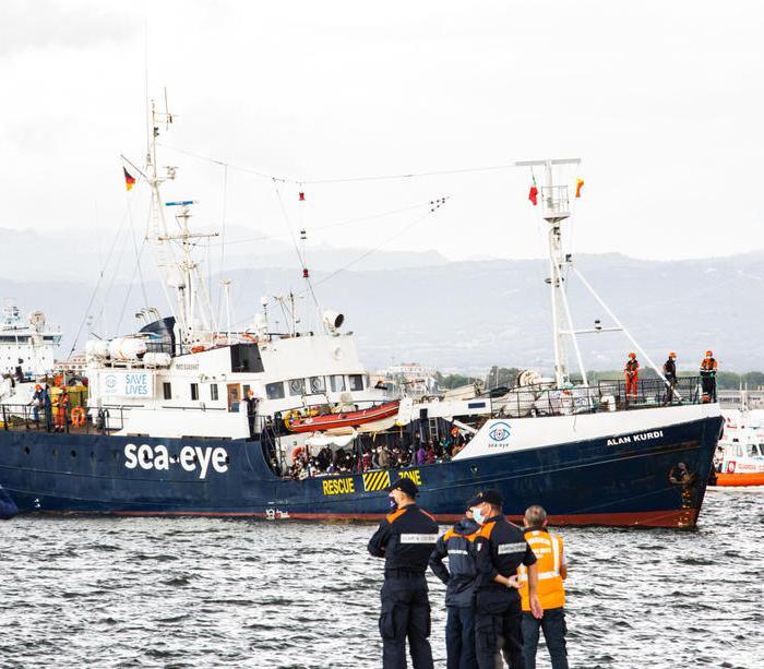 Photo Story: Alan Kurdi rescue ship docks in Sardinia