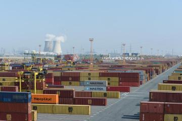 Digital security system for containers at the port of Antwerp