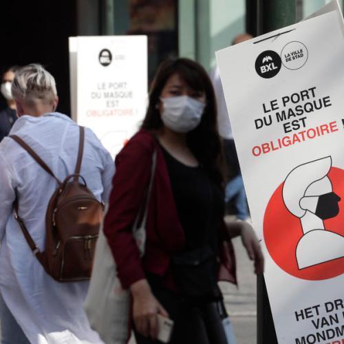 Covid deaths pass 10,000 in Belgium