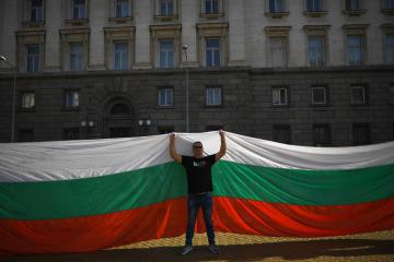 Photo Story: Аnti-government protests continue in Bulgaria