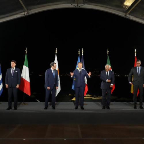 EU's Mediterranean states tell Turkey: resume talks this month or risk sanctions