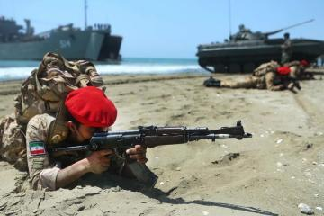 Photo Story: Photos from the Iranian military exercises in Gulf and Oman Sea