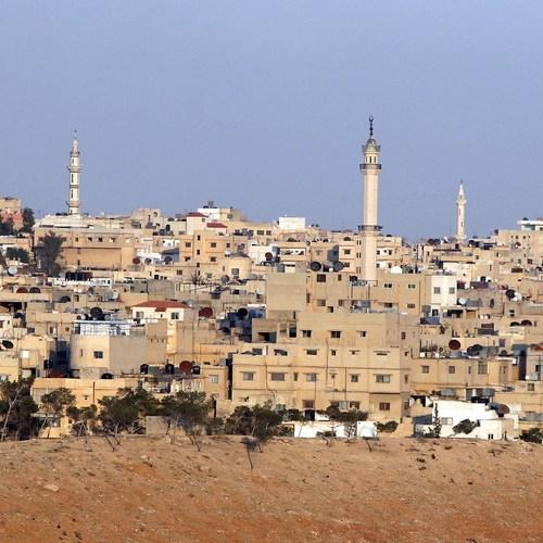 Huge explosions rock military facility in Jordan