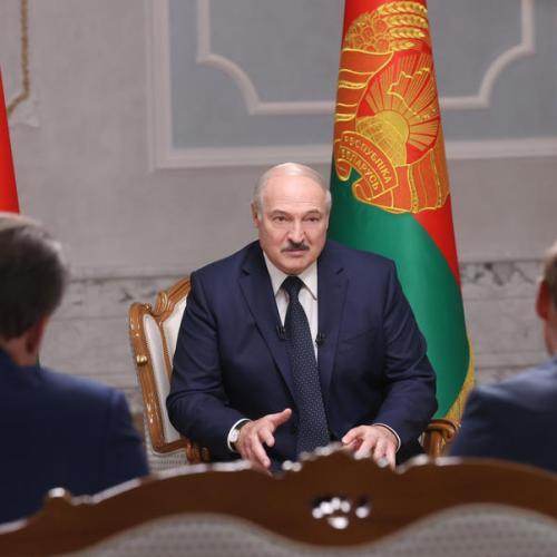 UPDATED: Belarus leader denies having known arrested blogger was on board flight