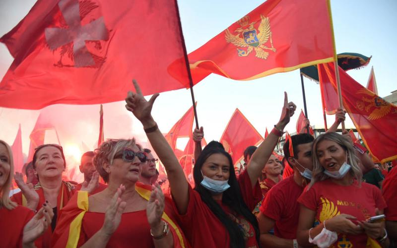 Thousands protest against pro-Serb rallies in Montenegro