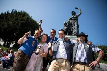 Scaled-down Oktoberfest in Munich amid increase in Covid cases