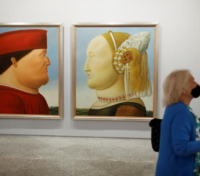 Photo Story: Botero exhibition opens in Madrid