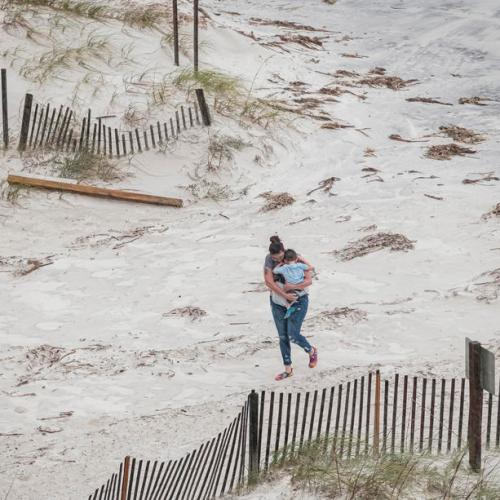 Photo Story: Hurricane Sally makes landfall near Gulf Shores, Alabama