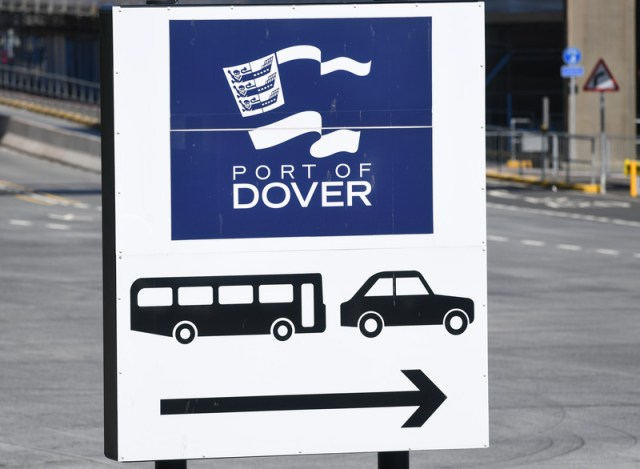 7,000 trucks could face two-day Brexit delays at Dover