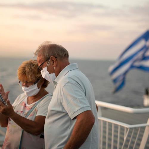 Greece reports record new coronavirus cases