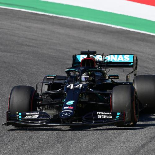 Lewis Hamilton snatches inaugural Mugello pole position