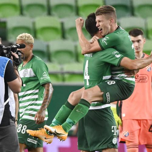 Ferencvaros progress to the Champions League playoff round