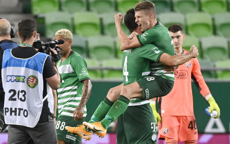 Ferencvaros progress to the Champions League playoff round