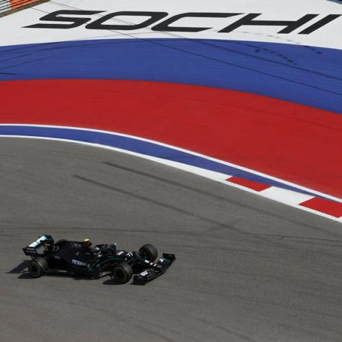 Bottas recorded fastest time in Russian GP practice