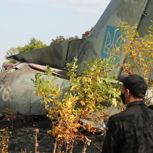 Ukrainian President orders investigation into plane crash