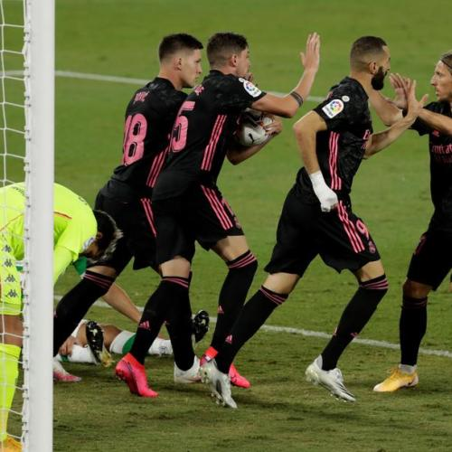 Real Madrid beat Betis as VAR takes centre stage