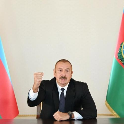 Azerbaijan's Aliyev: Solving issue 'is our national task'