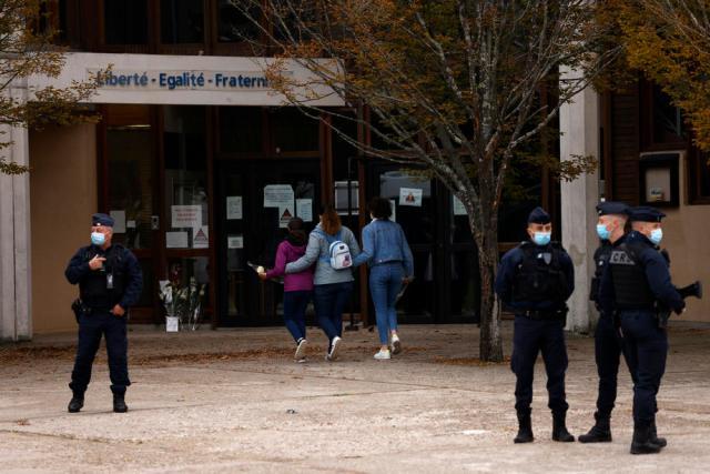 Suspect in teacher's beheading in France identified as Chechen teen