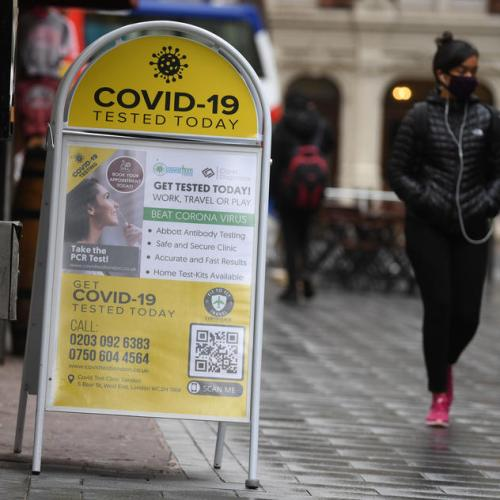 UK COVID researcher says any lockdown should come sooner not later