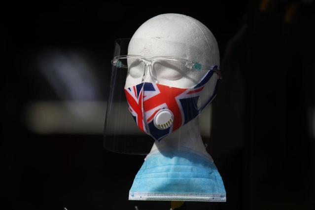 Britain report slight fall in new Covid-19 cases