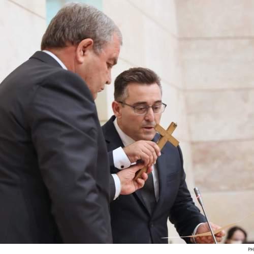 Dr Bernard Grech sworn in as Member of Parliament