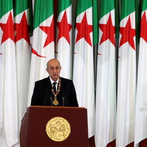 Algeria's president hospitalised