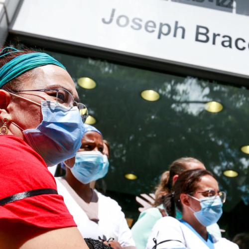 Hospital capacity for coronavirus patients in Brussels saturated