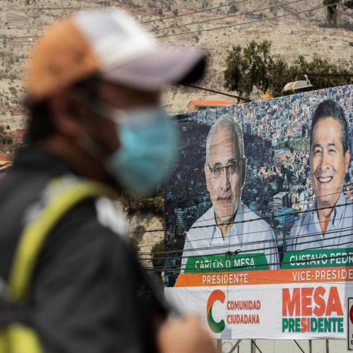 Bolivians hope to restore political stability in Sunday presidential election