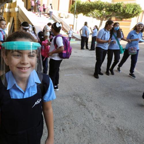 Photo Story: Schools in Egypt reopen amid coronavirus pandemic