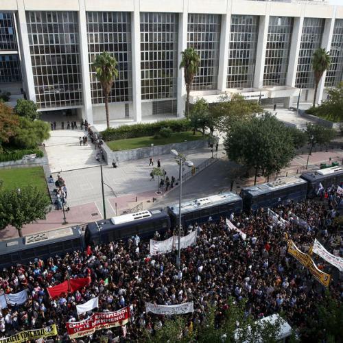 UPDATED: Greece Golden Dawn leaders guilty of running crime gang